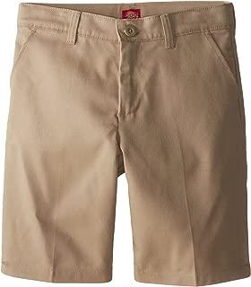 Dickies Girls' Flex Waist Slim Fit Flat Front Short