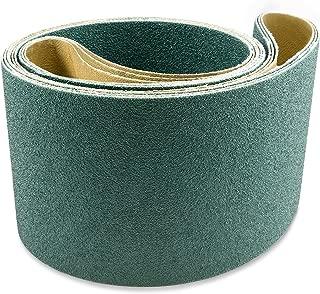 4 X 36 Inch 100 Grit Metal Grinding Zirconia Sanding Belts, 3 Pack