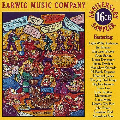 Earwig 16th Anniversary Sampler by Various Artists - Earwig