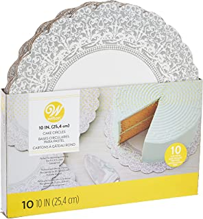 Wilton 2104-1168 Show N Serve Cake Boards Packet 10 Pieces, White, 10 inch, Paper