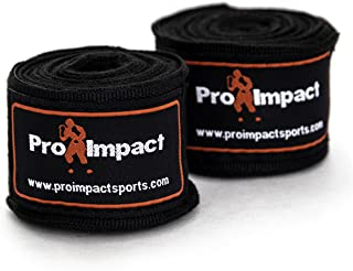 "Pro Impact Mexican Style Boxing Handwraps 180"" with Closure – Elastic Hand &.."