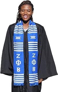 Zeta Phi Beta Sorority Kente Graduation Stole