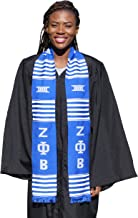 zeta graduation stole