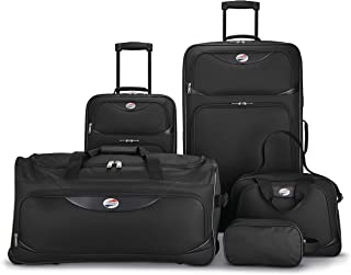 5-Piece Softside, Black