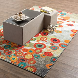 Best abstract floral rug Reviews