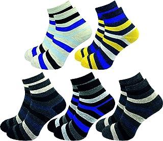 GAWILO Lot de 10 paires de chaussettes pour enfant – Chaussettes pour garçons & filles – 90 % coton