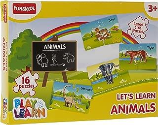 Funskool Animals Puzzles, Multi Color