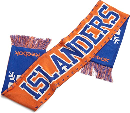 وشاح فريق يوم الألعاب للرجال من NHL (New York Islanders، مقاس واحد يناسب الجميع)، برتقالي/أزرق