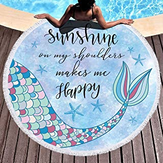 Best mermaid towel blanket Reviews