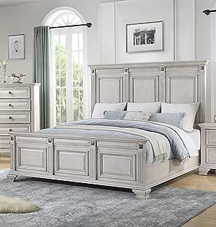 Cambridge Heritage King-Size, Light Wash Bed Frame
