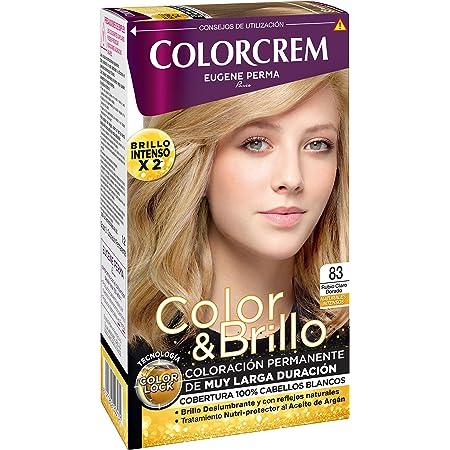 COLORCREM tinte Rubio Claro Dorado Nº 83 caja 1 ud