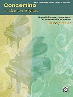 Concertino in Dance Styles: Solo with Piano Accompaniment (Student Concertos)