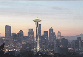 USNATMON07 - Space Needle - Seattle, WA - A US National Monuments Postcard featuring America's most famous national monuments and man made landmarks .. .. from HibiscusExpress