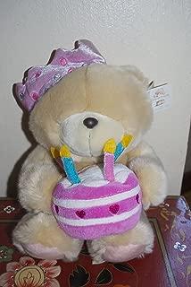 Forever Friends Birthday Cake Bear Hallmark