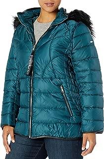 Women's Plus Size Puffer Jacket