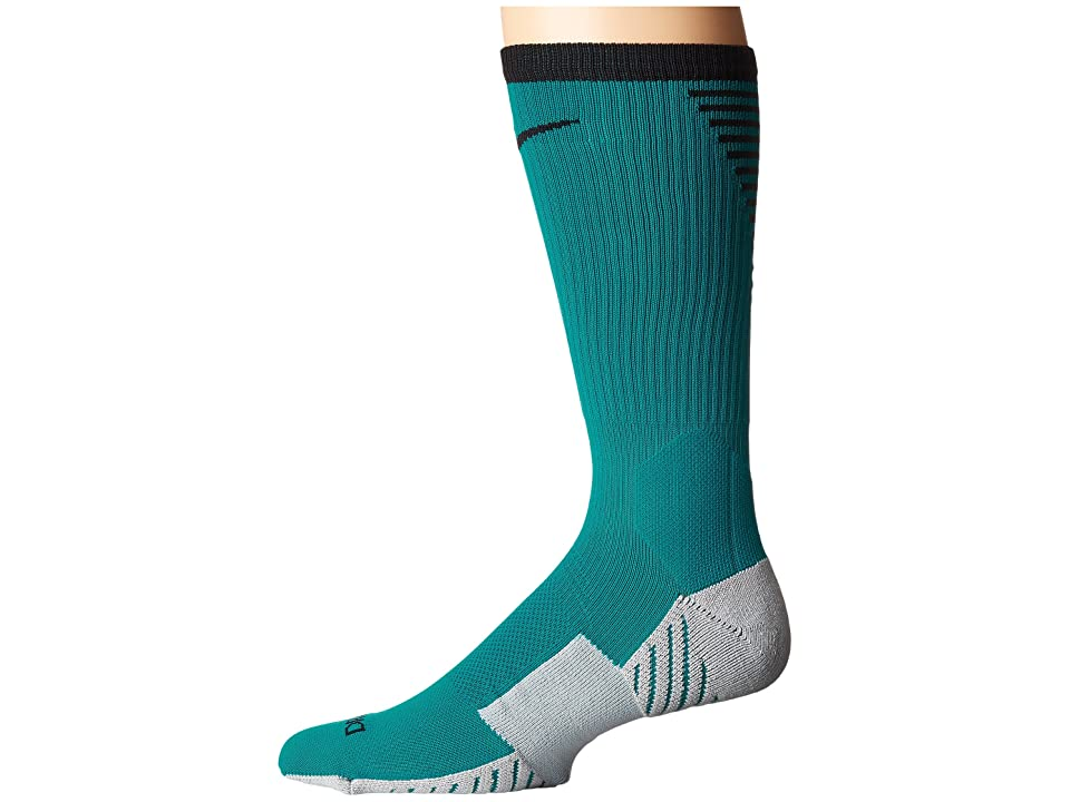 Nike Stadium Football Crew (Blustery/Black) Crew Cut Socks Shoes