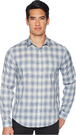 Shadow Plaid Long Sleeve Shirt