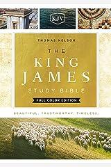 KJV, The King James Study Bible, Full-Color Edition: Holy Bible, King James Version Kindle Edition