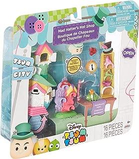 Tsum Tsum Disney Mad Hatter's Hat Shop Set Miniature Toy Figures