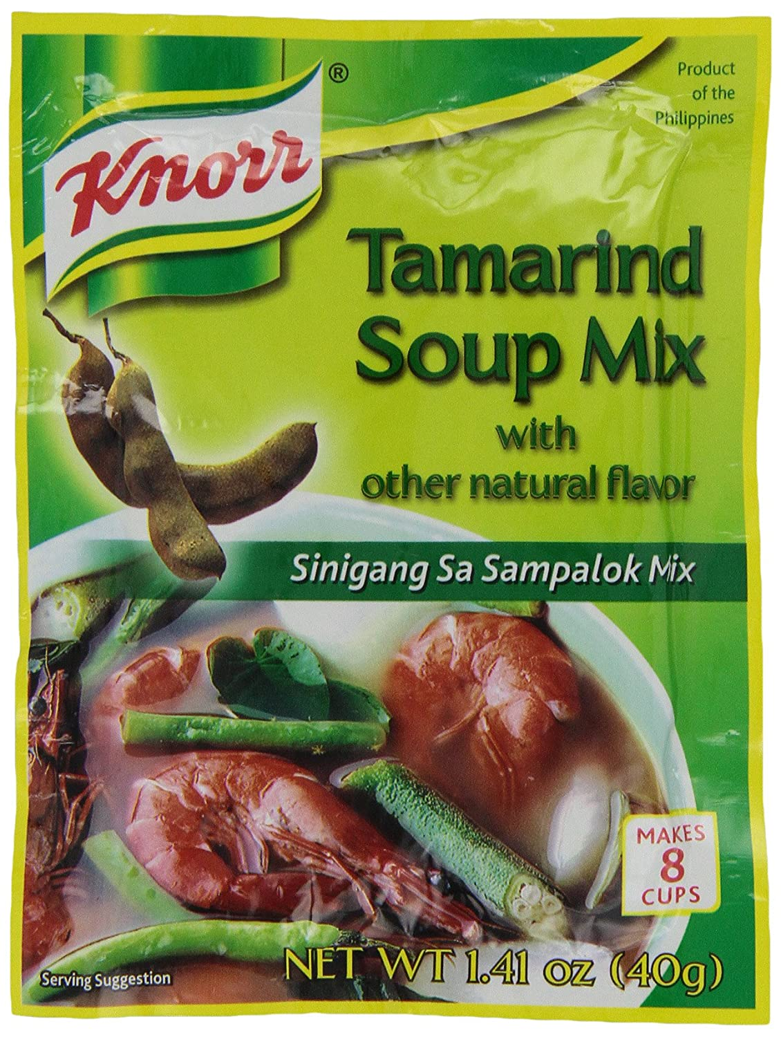 Knorr Louisville-Jefferson County Mall Quality inspection Soup Base Tamarind 1.41 Ounce of 144 Pack