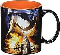 Silver Buffalo SE0534 Star Wars Episode 7: The Force Awakens Captain Phasma Poster Jumbo Ceramic Mug, 20-Ounces