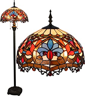 Gweat 16 pouces Continental Tiffany Lighting Salon Escalier Chambre Salle à manger Bar pastorale Creative personnalité de ...