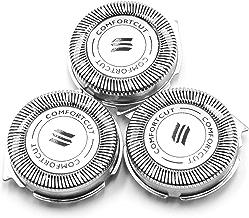 vhbw 3x testina per rasoio Philips 1000 Series (S1xxx), 3000 Series (S3xxx), S1300/04, S1310/04, S1320/04, S3110/06, S3110/08, S3110/41