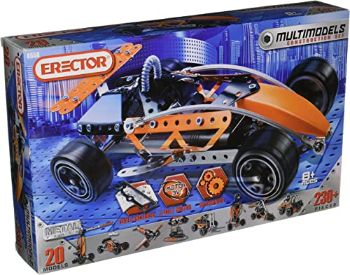 Erector Multimodels 20 Models Set