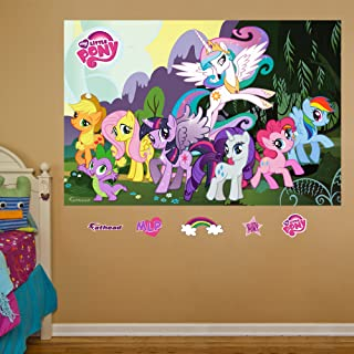 FATHEAD My Little Pony: Mural-Huge OfficiallyLicensed Removable Graphic Wall Decal