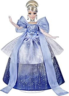 Disney Princess Style Series Holiday Style Cinderella, Christmas 2020 Fashion Collector Doll with Accessories, Toy for Gir...