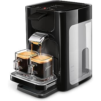 Senseo Quadrante HD7865/60Machine à café capsules 1,2 L Cafetière 8 tasses Noir Autonome Café en capsules Noir Boutons 50/60Hz