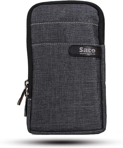 Saco Multipurpose Holster Premium Men/Woman Travel Bag Vertical Pouch with Belt Loop and Shoulder Straps Portable Car...