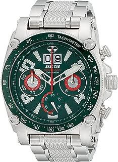 REACTOR Men's 41009 Analog Display Japanese Quartz Silver Watch