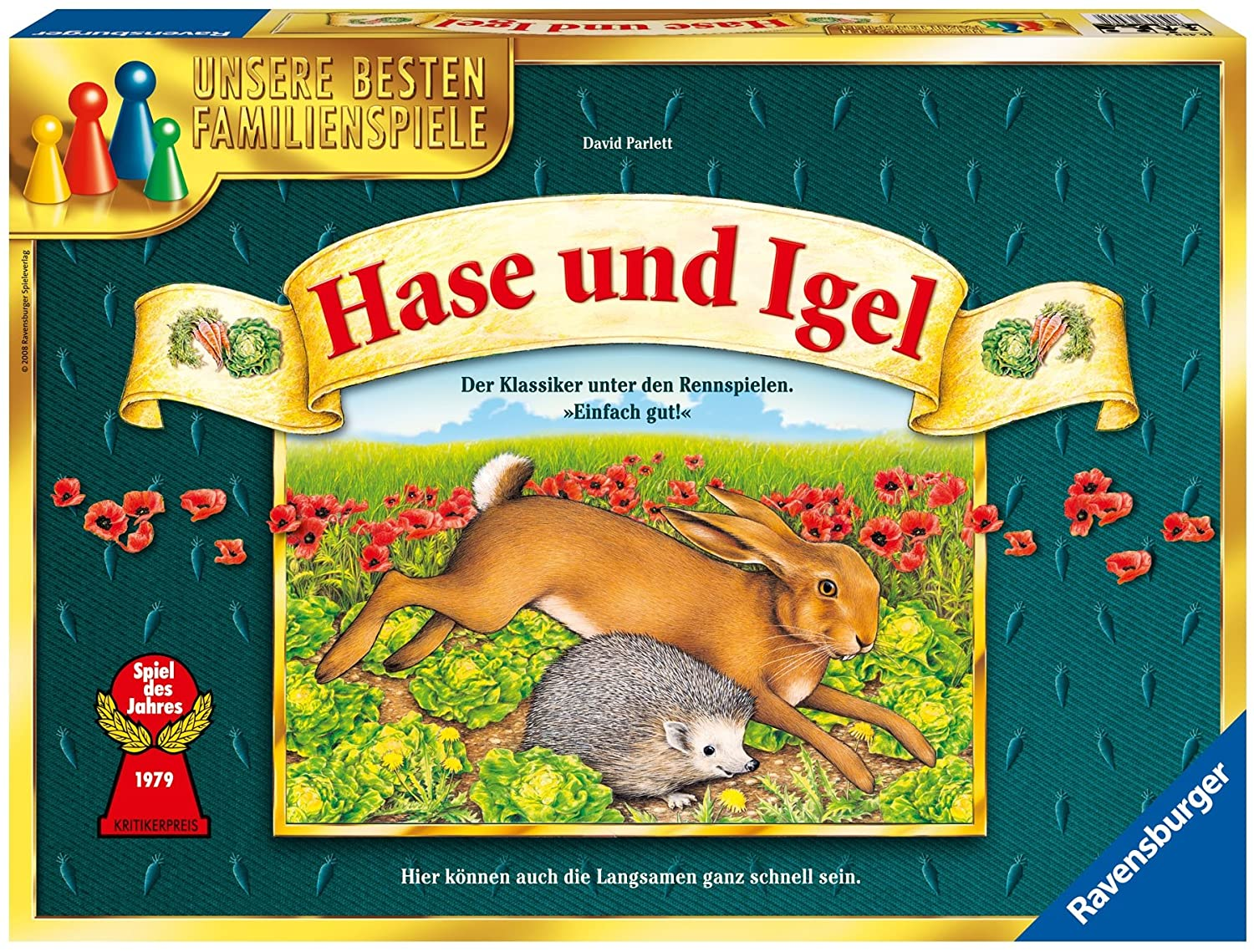Ravensburger 26458 2  Rabbit And Hedgehog  Game