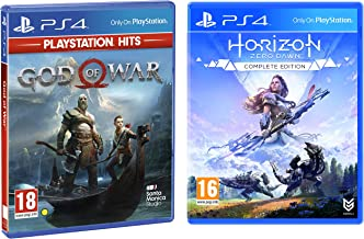 PS4 God of War (PS4) & Horizon: Zero Dawn - Complete Edition (PS4)