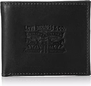 Levi's Iconic Black Men's Wallet (77170-0610)