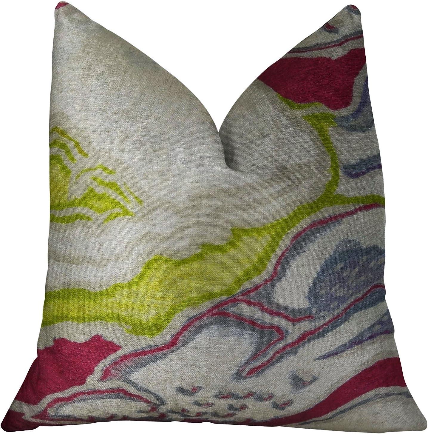 Plutus Brands Chattingham Handmade Throw Bombing new work Pillow 20 Discount mail order 12