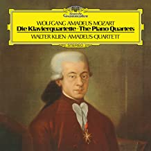 Mozart: Piano Quartet No.1 In G Minor, K.478; Piano Quartet No.2 In E Flat, K.493