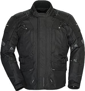 Tourmaster Transition Series 4 Men's Textile Motorcycle Touring Jacket (Black, Large)