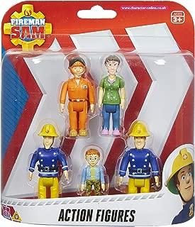 Character Options Fireman Sam Action Figures