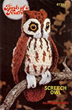 Birds of a Feather Screech Owl 87T14 (Annie's Pattern Club, Backwoods Series)