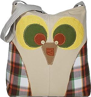 restyled.store Umhängetasche Damen, Handtasche Bunt, Schultertasche groß mit Reißverschluss, Canvas Tasche für Frauen Mädchen