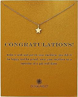 Dogeared - Congratulations, Full Star Necklace