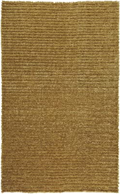 Surya Harvest HVT-6801 Shag Hand Woven 50% Polyester / 50% Jute Gold 5' x 8' Area Rug