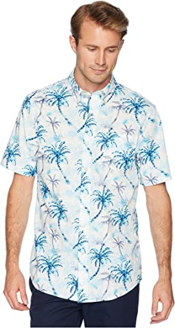 Short Sleeve Printed Woven Shirt