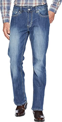 Reflex Double Barrel Denim with Stitches in Light Wash M0D6602