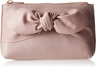 Ted Baker Bow Detail Cosmetic Bag for Women-Pink