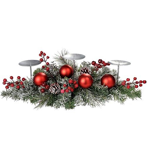 Christmas Centrepiece Candle Amazon Co Uk