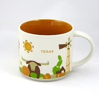 Starbucks You Are Here-Texas Mug