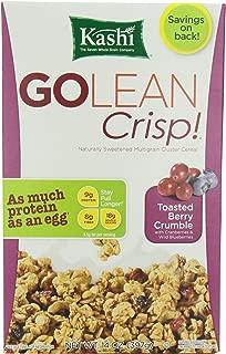 Kashi GO Toasted Berry Crisp Cereal - Vegan   Non-GMO   14 Oz Box